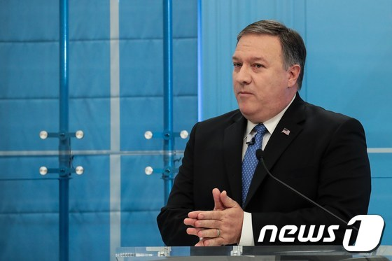 WASHINGTON, DC - JANUARY 23: Director of the Central Intelligence Agency (CIA) Mike Pompeo speaks at the American Enterprise Institute, January 23, 2018 in Washington, DC. Pompeo stated that the CIA believes that Kim Jong Un is a 'rational actor' but they have concerns about the information Kim may be receiving from those around him.   Drew Angerer/Getty Images/AFP == FOR NEWSPAPERS, INTERNET, TELCOS & TELEVISION USE ONLY ==